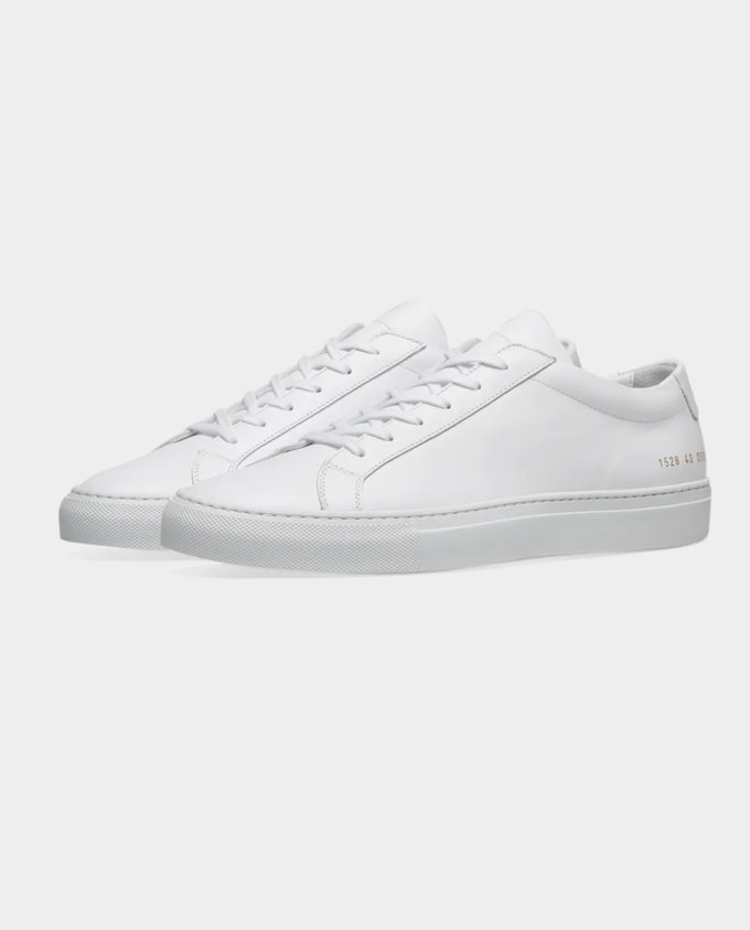 Common Projects Achilles Lows White